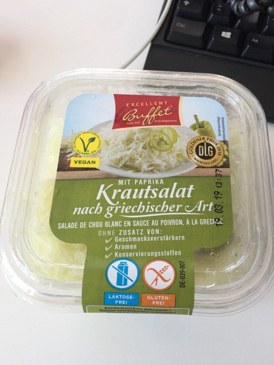 Salade de chou blanc - Produit - fr