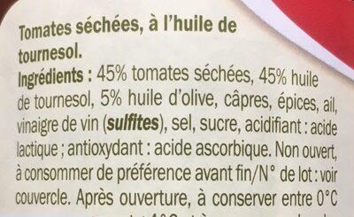 Pomodori secchi - Ingrédients