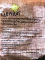 Genius Sans gluten - Ingrédients