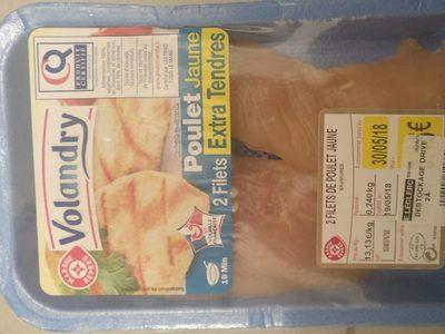 Filets poulet jaunes Extra Tendre - Produit