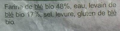 La boule bio - Ingredienti - fr