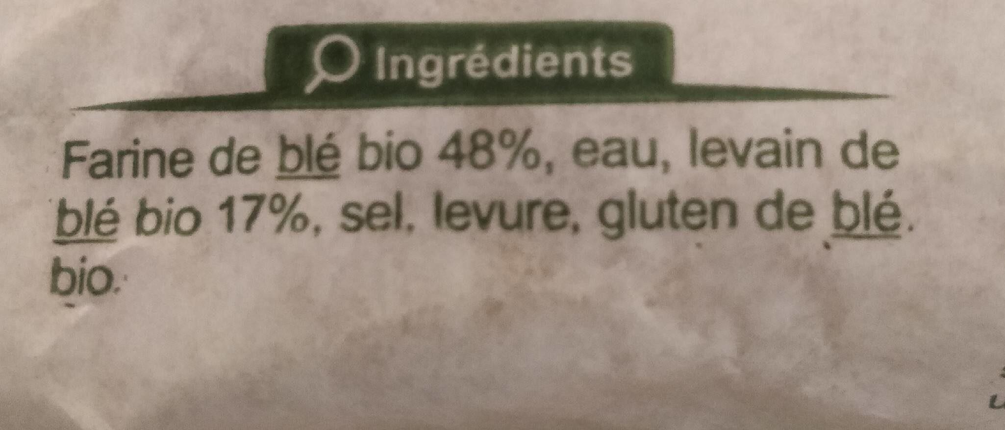 La boule bio - Valori nutrizionali - fr