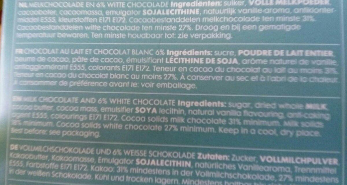 Œuf chocolat - Ingredients