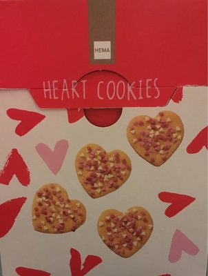 Heart cookies - Produit - fr