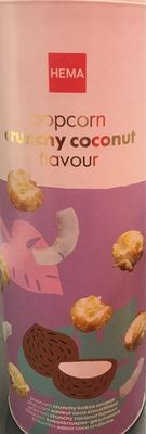 Popcorn crunchy coconut - Produit