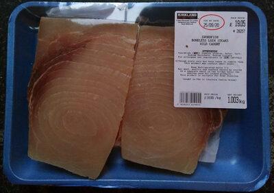 Swordfish Boneless Loin Steaks - Wild Caught - Produit - en