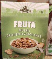 Crunchy - Muesli croustillant multifruit - Product - fr
