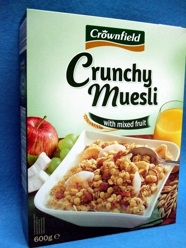 Muesli Croustillant aux fruits / Crunchy Muesli with mixed fruit - Product