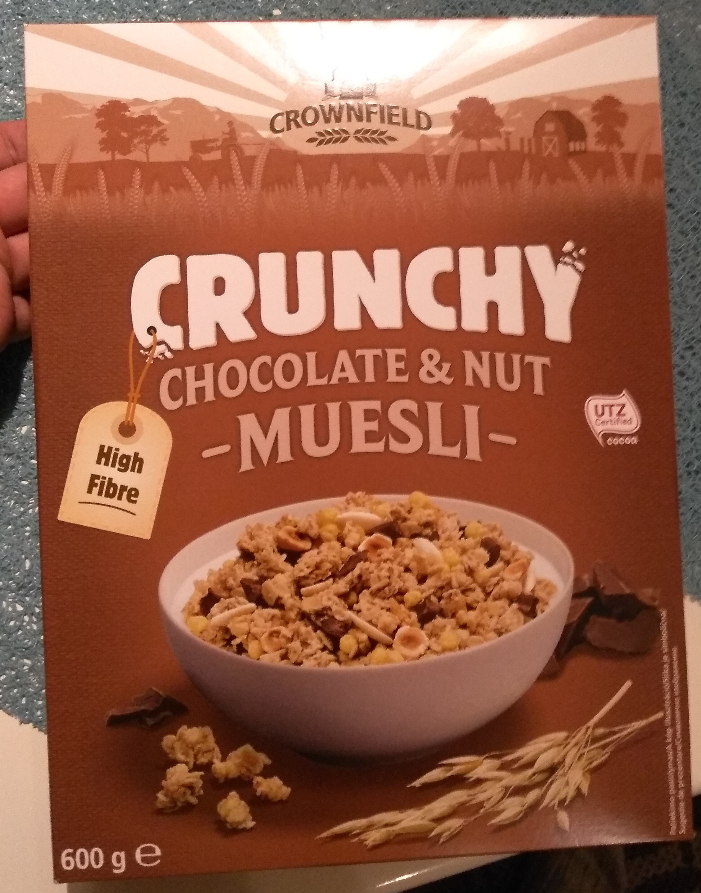 Crunchy muesli - Chocolate & Nuts - Product - en