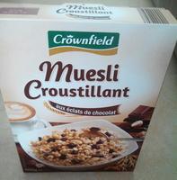 Muesli croustillant aux éclats de chocolat - Prodotto