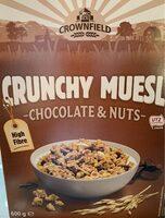 Crunchy muesli choco & nuts - Producto - fr
