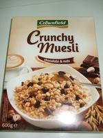 Crunchy muesli - Chocolate & Nuts - Produto - pt