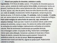 Crunchy muesli - Chocolate & Nuts - Ingredientes - pt