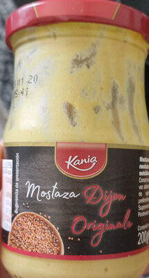 French Dijon Mustard - Producto