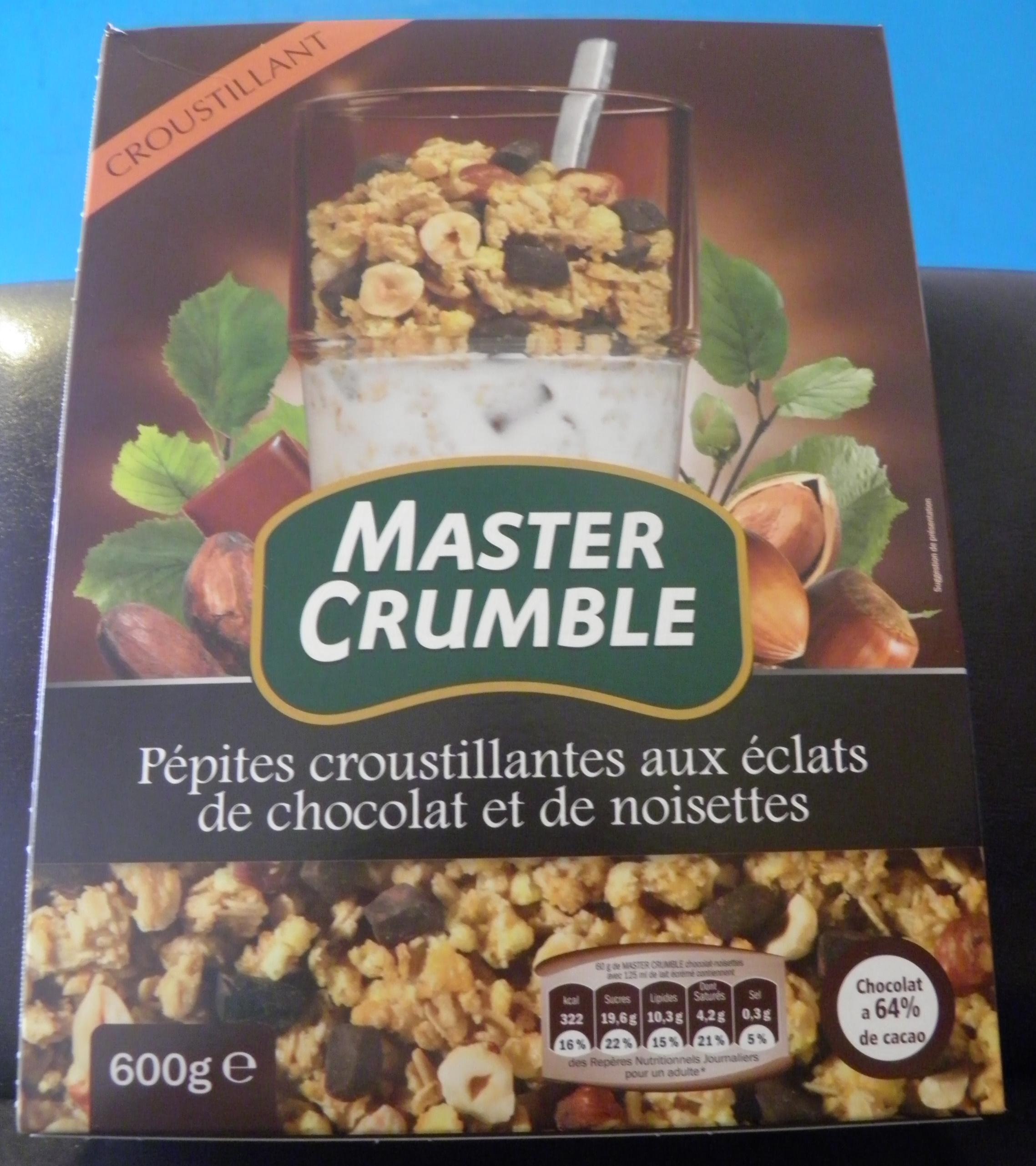 Master crumble chocolat noisette - Product - fr