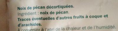 Noix de pécan - Ingredients