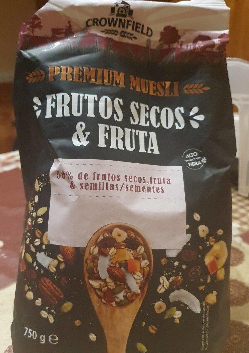 Premium muesli frutos secos y fruta - Producte - es