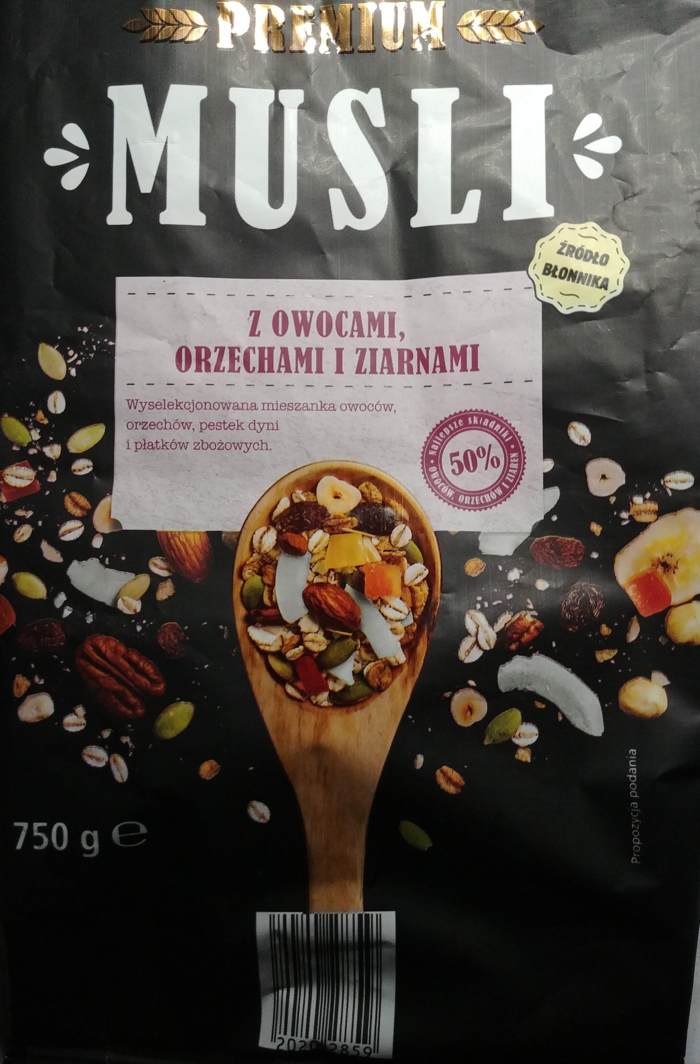 Muesli Premium - Produkt