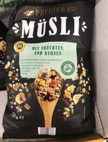 Premium Müsli mit Früchten und Kernen - Producte