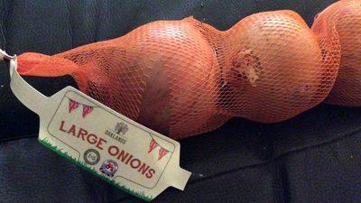Cebollas grandes - Producto
