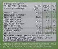 Galletas Digestive Naranja & Soja - Información nutricional - es
