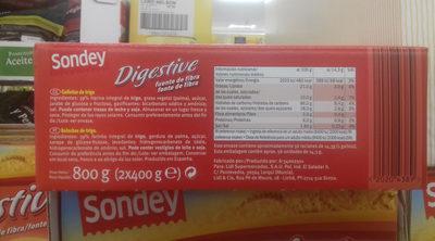 Galletas Digestive - 6