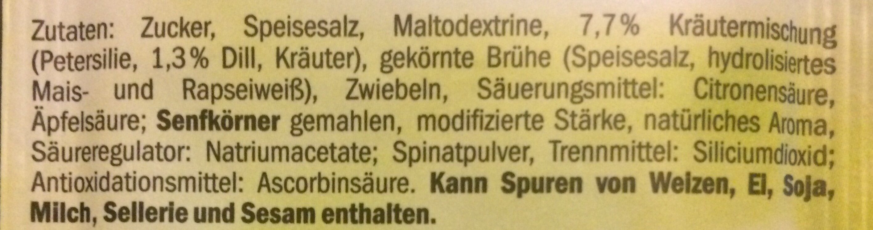 Salatkräuter - Ingredienti - de