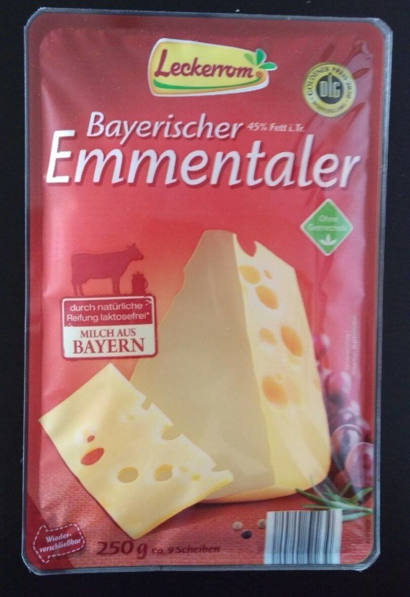 Bayerischer Emmentaler - Product - de