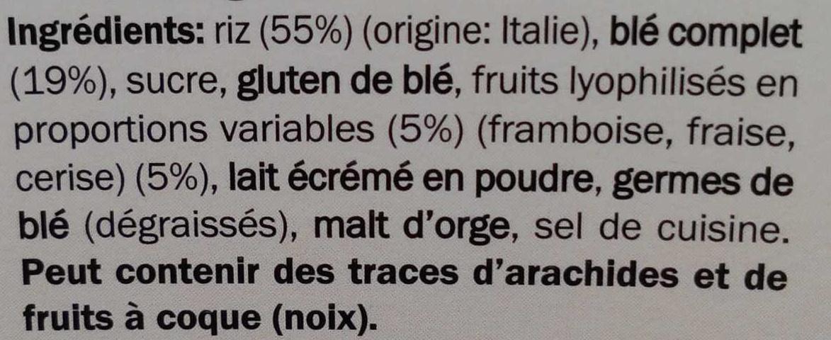 Special flakes - Red berries - Ingredientes - fr