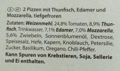 STEINOFEN PIZZA Thunfisch - Ingredients