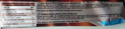 Bigger Choco, Milchschokolade - Nährwertangaben - de