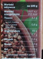 Kasza gryczana prażona - Wartości odżywcze - pl