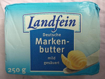 Deutsche Markenbutter mild gesäuert - Product