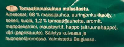 Tortilla rolls - Ingredients - fi