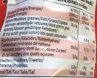 Tortilla rolls - Nutrition facts - fi