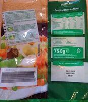 Gemüsepfanne Asien - Inhaltsstoffe