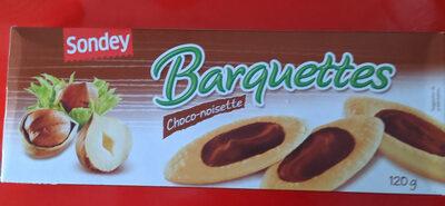 Barquettes choco-noisette - Produit