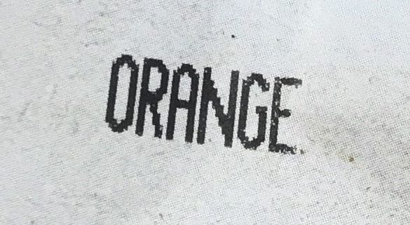 Orange bio - Ingrediënten - fr