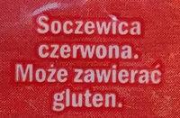 Soczewica czerwona - Ingrediënten - pl