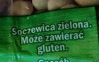 Soczewica zielona - Ingredients - pl