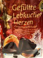 Goldora Gefüllte Lebkuchen Herzen - Produit