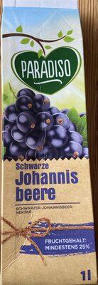Schwarze Johannisbeere Nektar - Prodotto - de