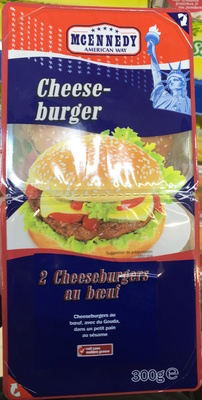 2 Cheeseburgers au bœuf avec du Gouda - Produit