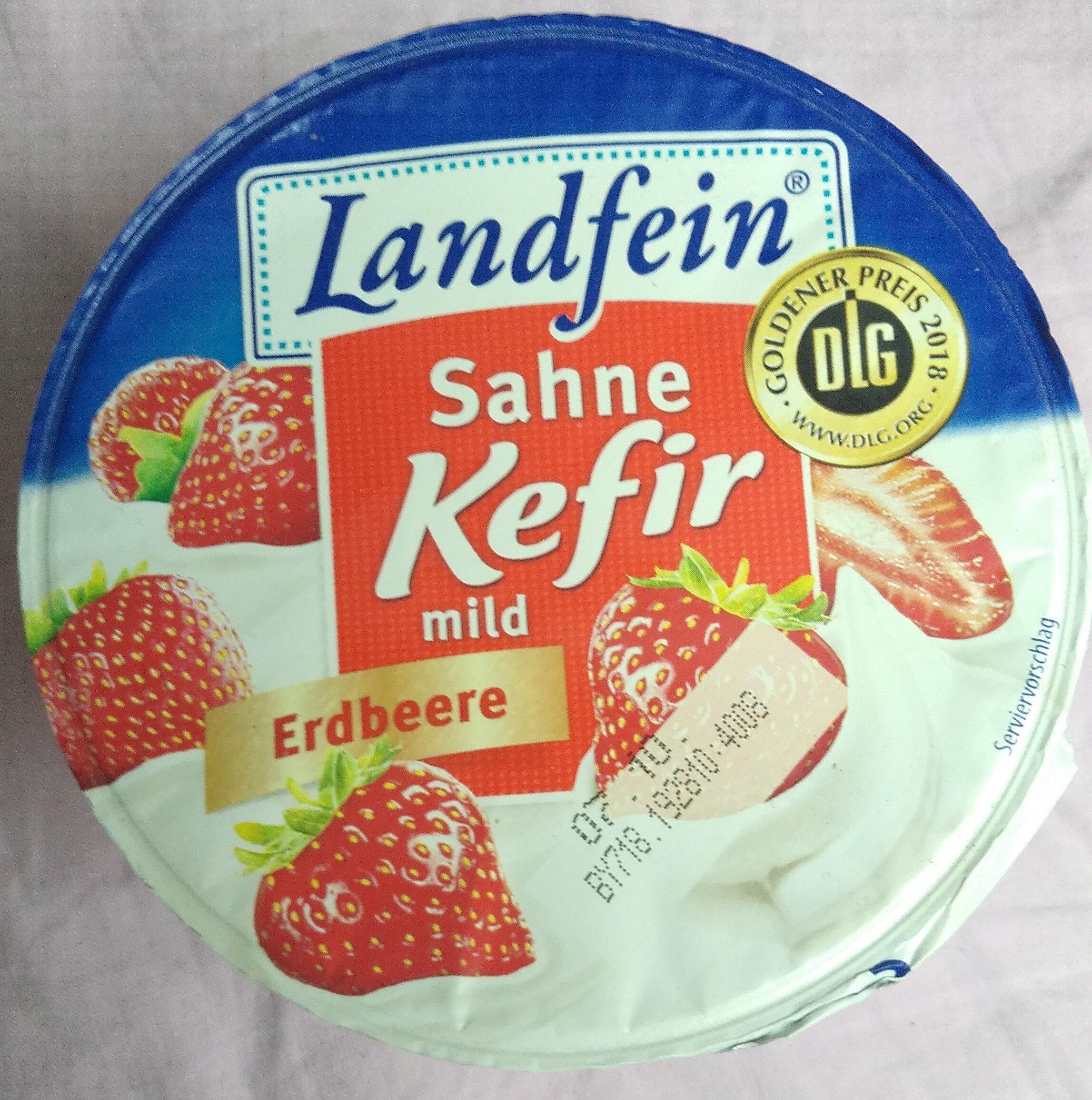 Sahne Kefir mild Erdbeere - Product - de