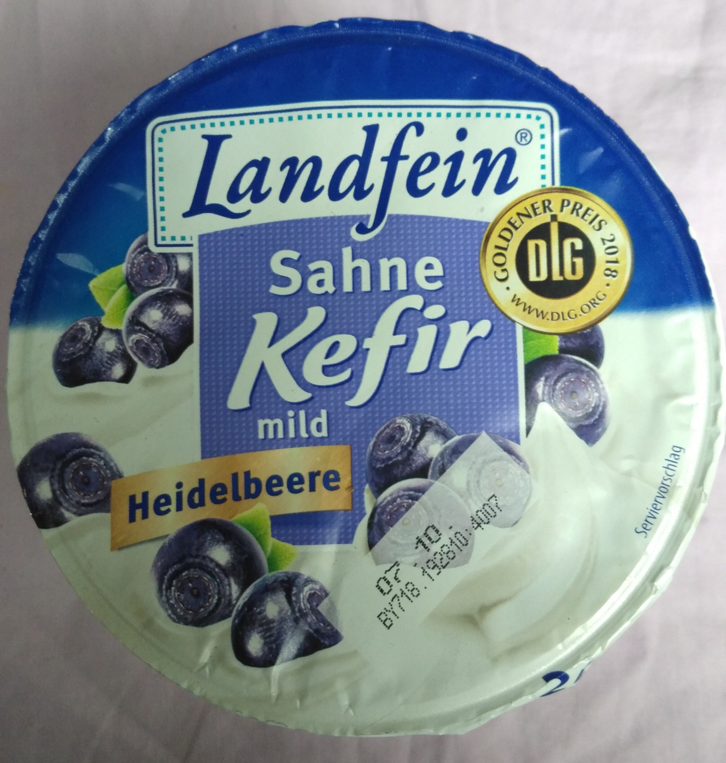 Sahne Kefir mild Heidelbeere - Product - de