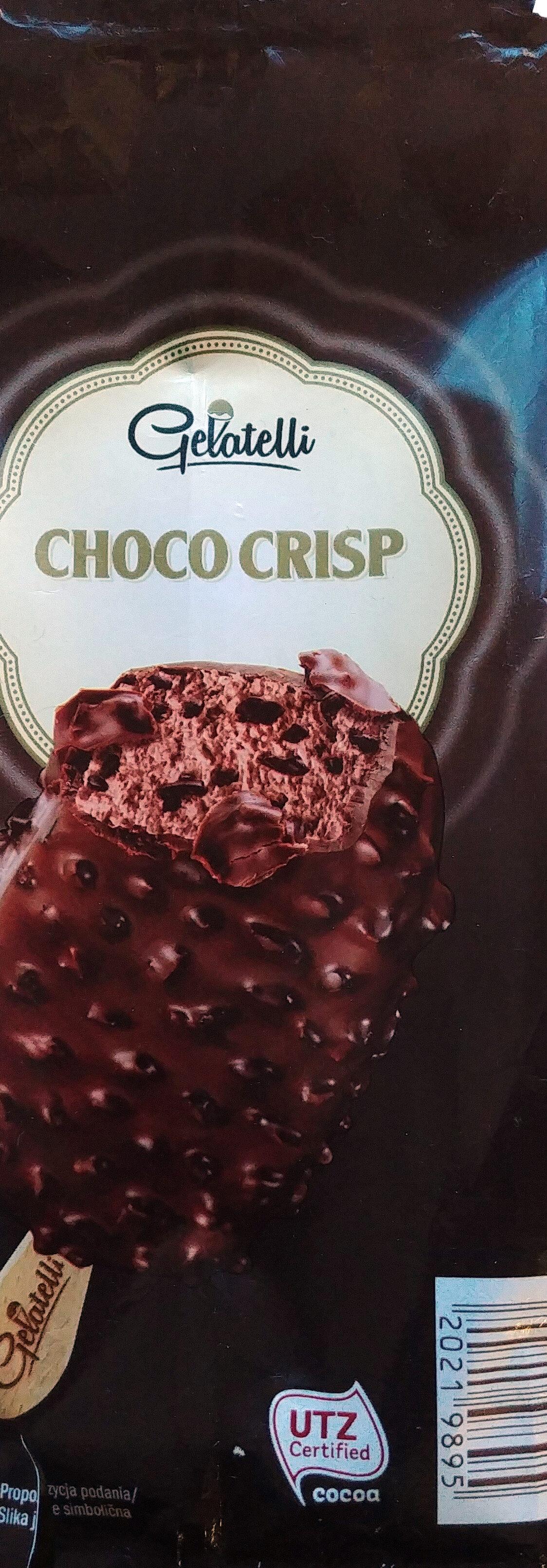 Lody o smaku czekoladowym 66%, z kawałkami czekolady 5% i z czekoladą mleczną 27% z ziarnami kakao 2%. - Product - pl