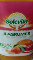 Jus 4 agrumes - Product