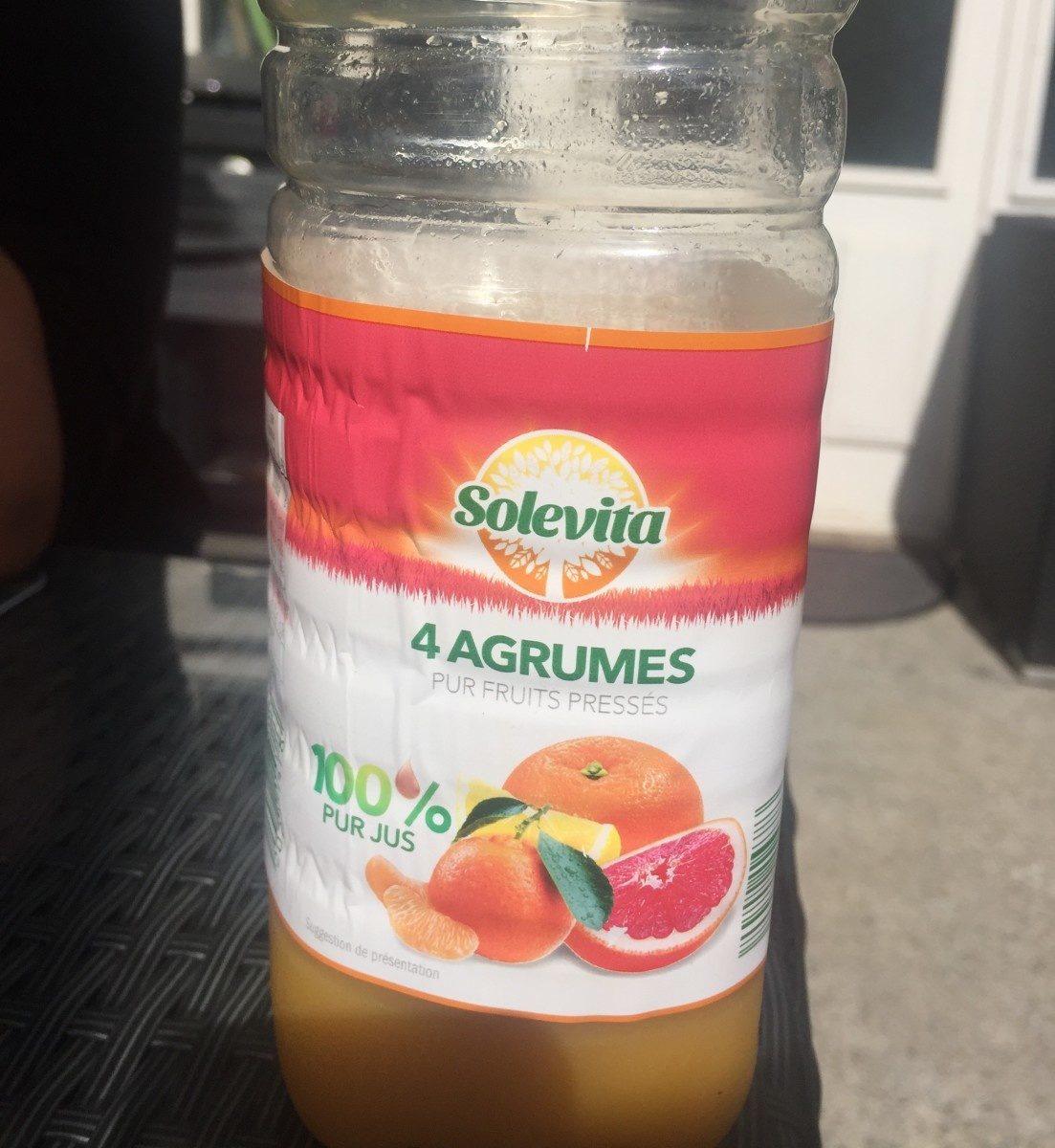 Jus 4 agrumes - Ingredients