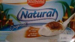 Yogurt Natural Milbona con Azúcar de caña - Produit