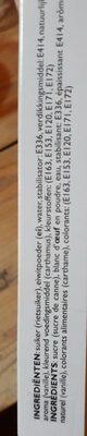 Décoration pour gâteau - Voedingswaarden - nl